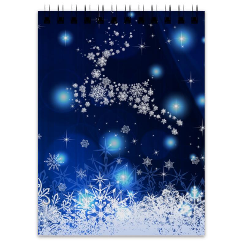 Блокнот Printio Новогодний блокнот printio новогодний лось