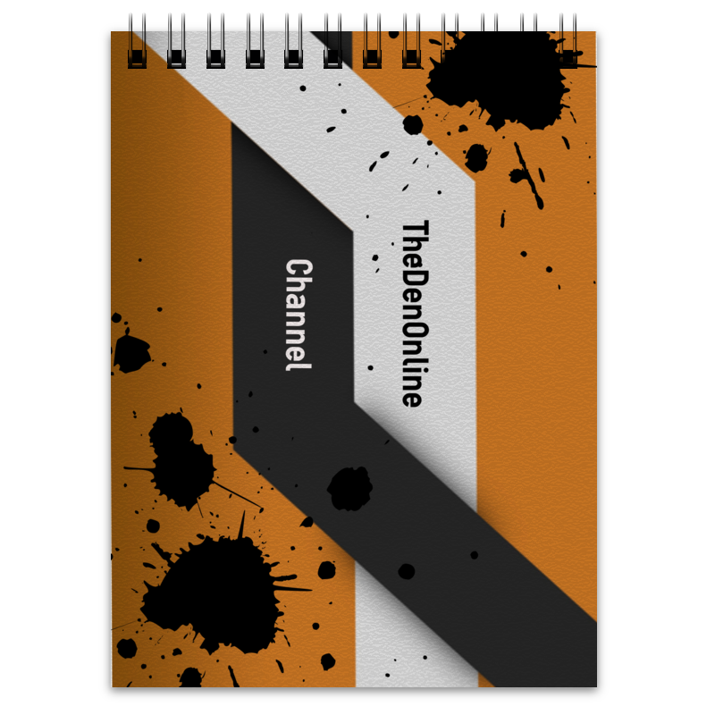 Блокнот Printio Official notebook channel thedenonline channel printio блокнот