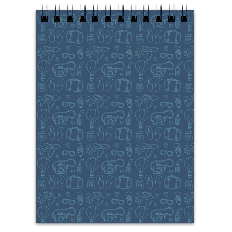 Блокнот Printio Заметки путешественника елена александровна козодаева путешествие навосток заметки путешественника часть 4