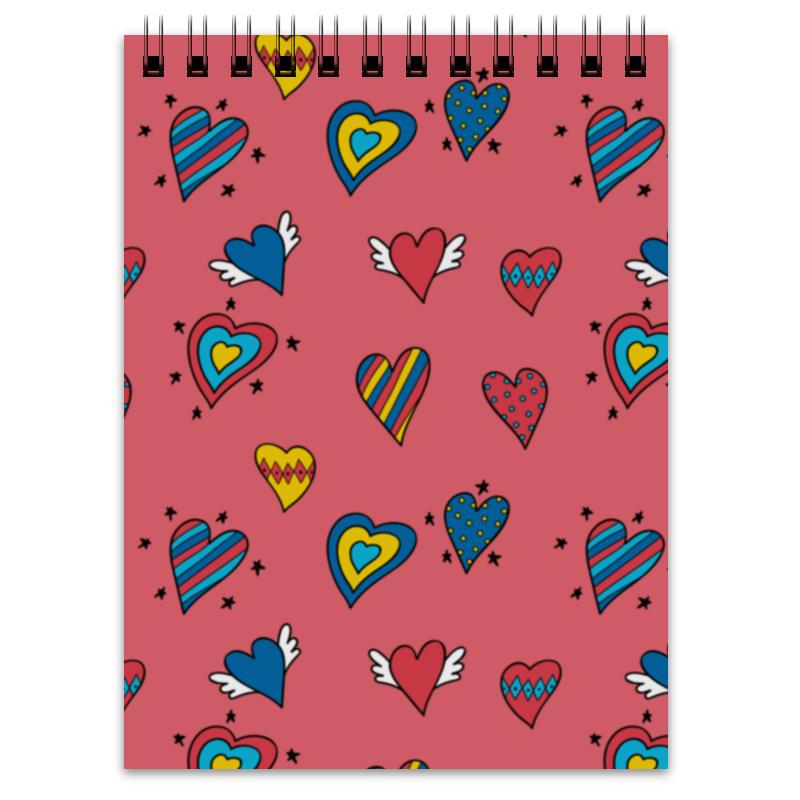Блокнот Printio Heart doodles over 100 monster doodles