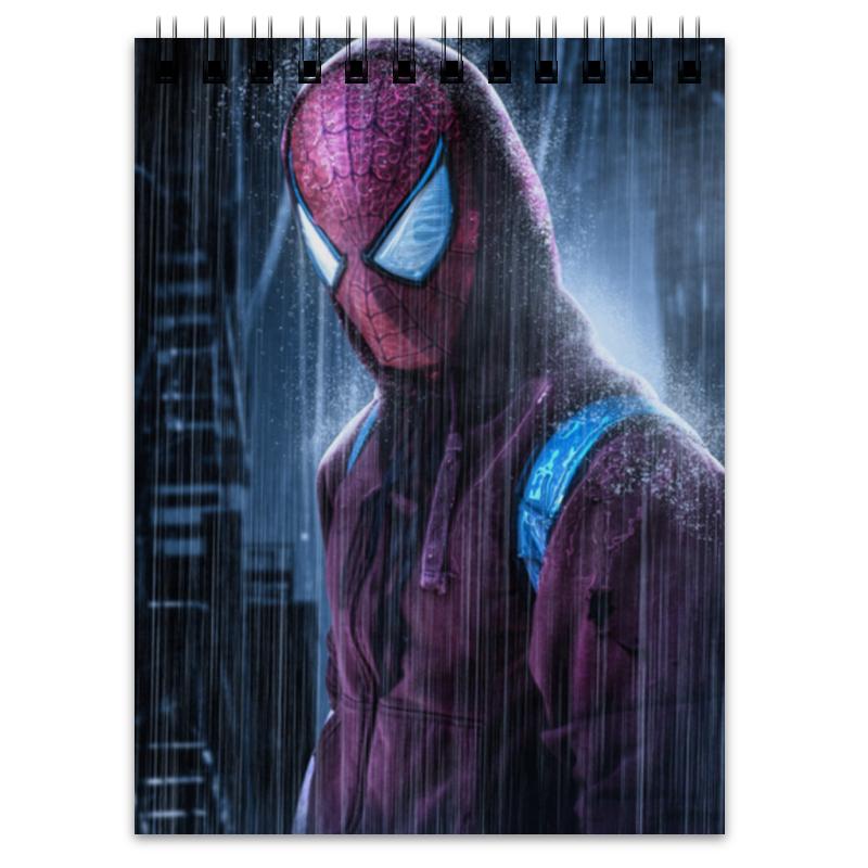 Блокнот Printio Человек-паук (spider-man) retro spider zinc alloy keychain bronze