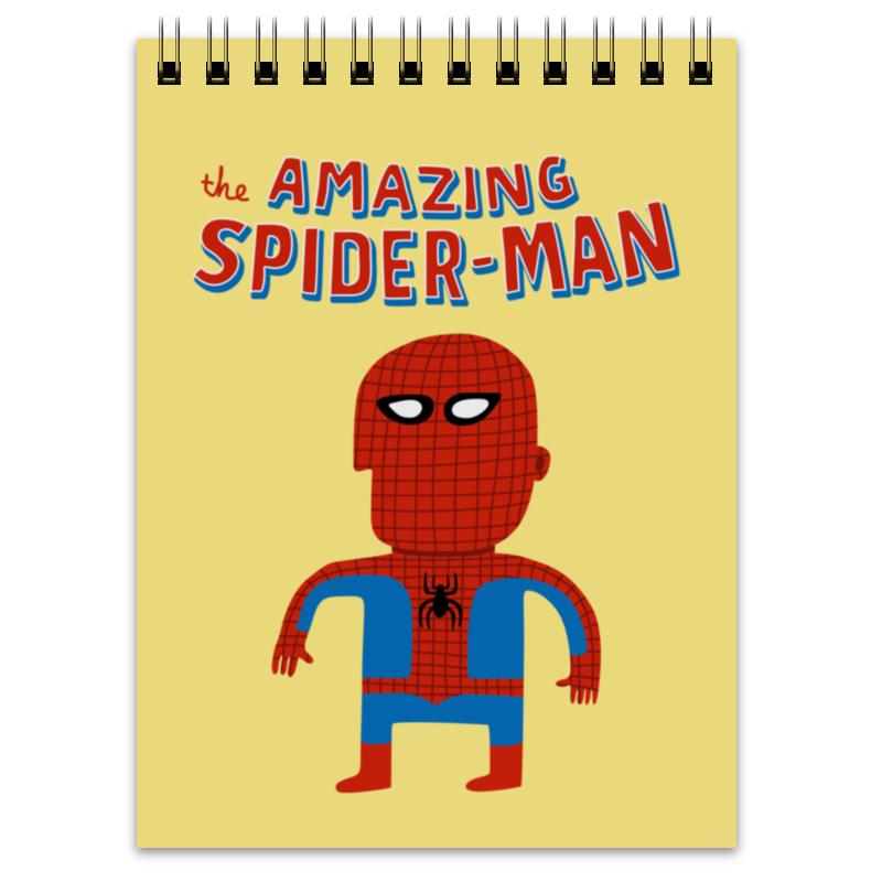 Блокнот Printio Человек-паук 76057 человек паук последний бой воинов паутины