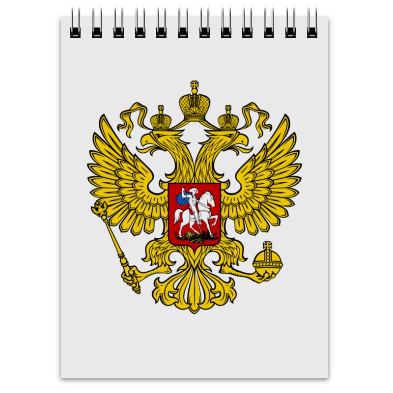 Блокнот Printio Российская федерация