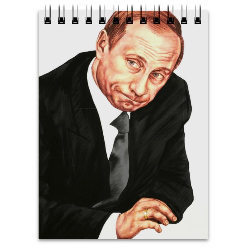 Блокнот Printio Путин блокнот printio прогулки по городу