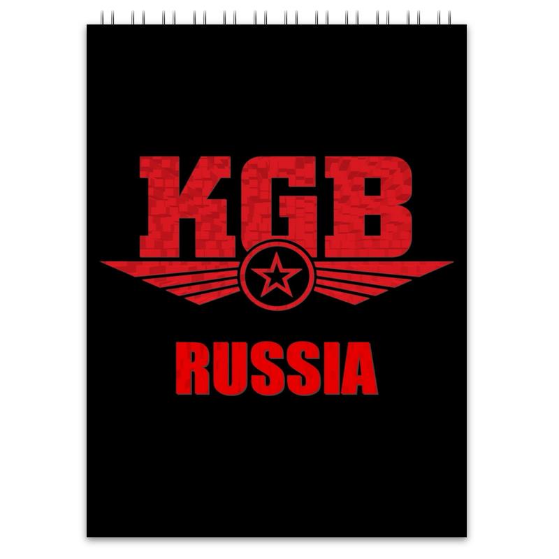 Блокнот Printio Kgb russia блокнот printio kgb russia