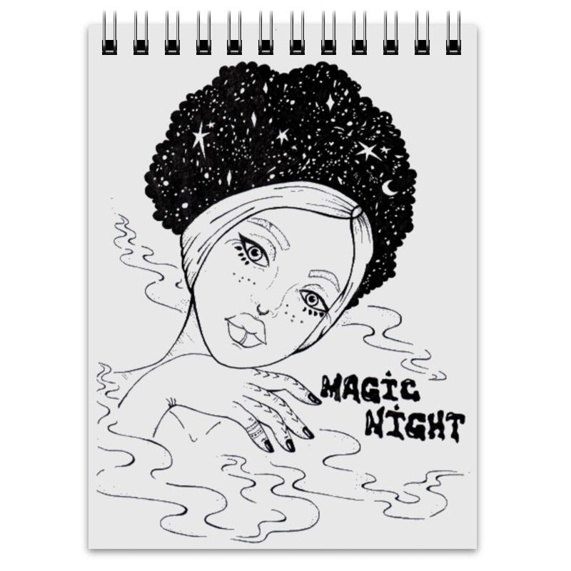 Блокнот Printio Magic night / волшебная ночь блокнот printio ночь на крыше