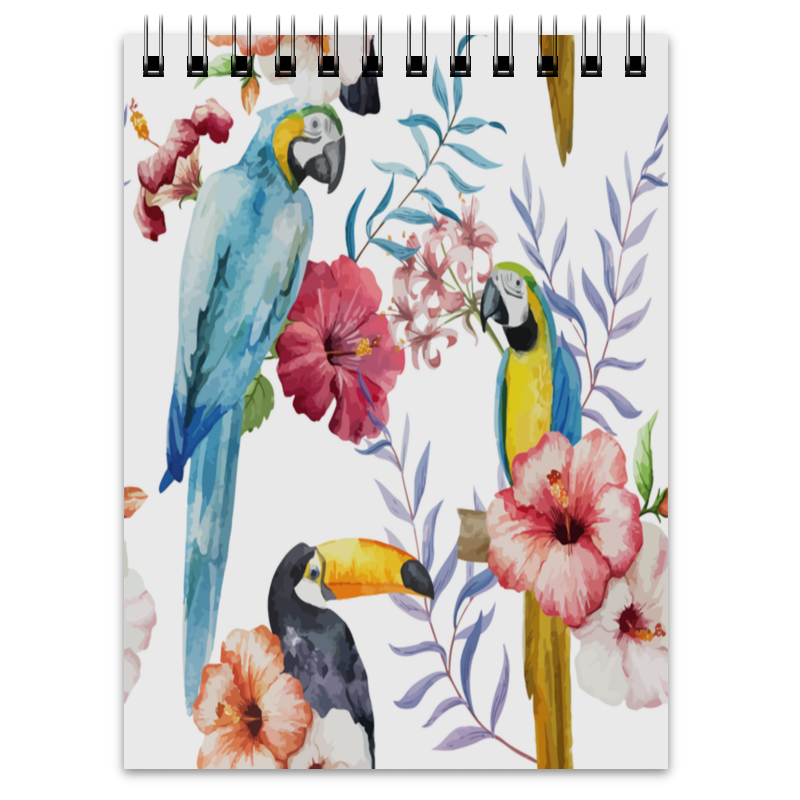 Блокнот Printio Птицы перелетные птицы