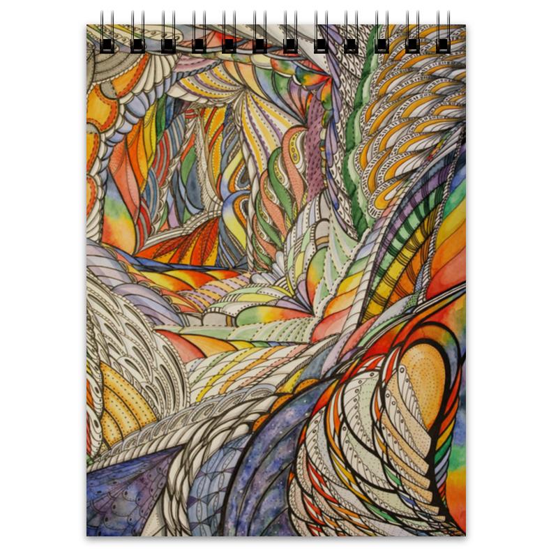 Блокнот Printio Тропик отсутствует рисование акварелью без помощи учителя академия художествъ