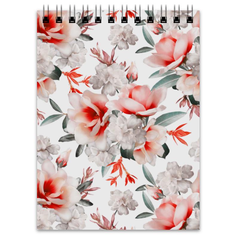 Блокнот Printio Цветы отсутствует цветы