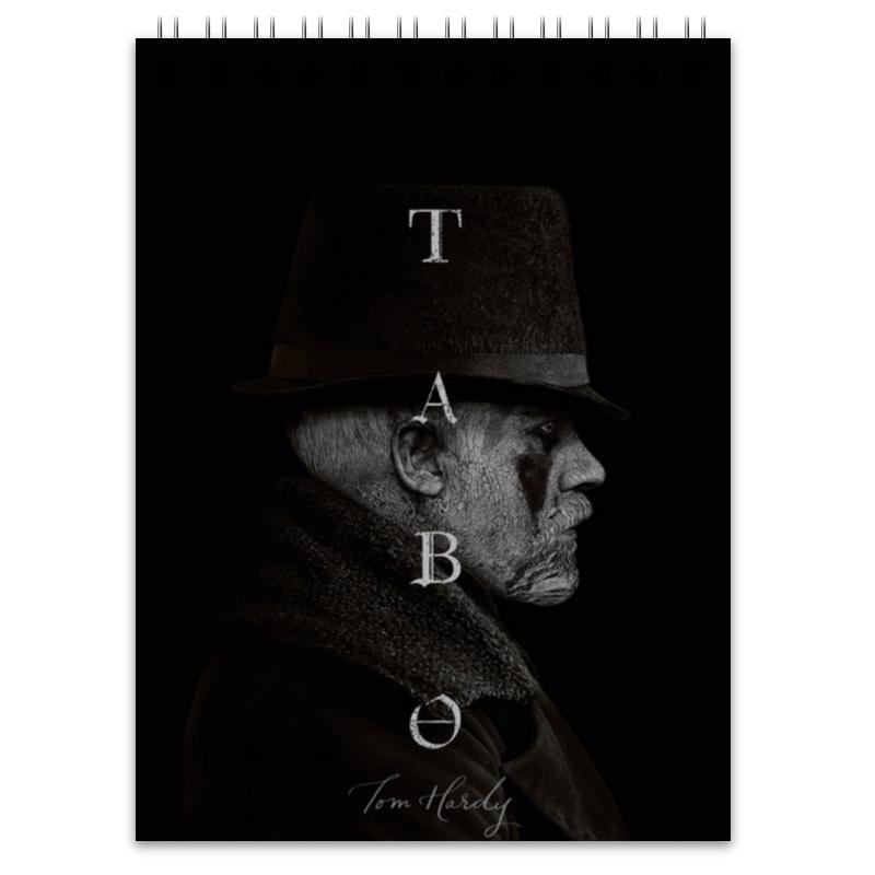 Блокнот Printio Табу - том харди худи print bar джефф харди