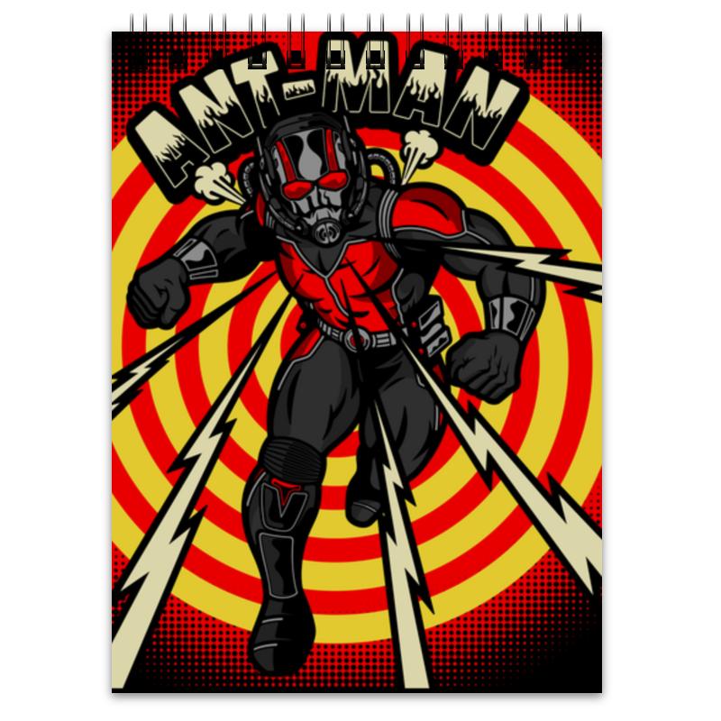 Блокнот Printio Человек-муравей кружка printio человек паук и человек муравей