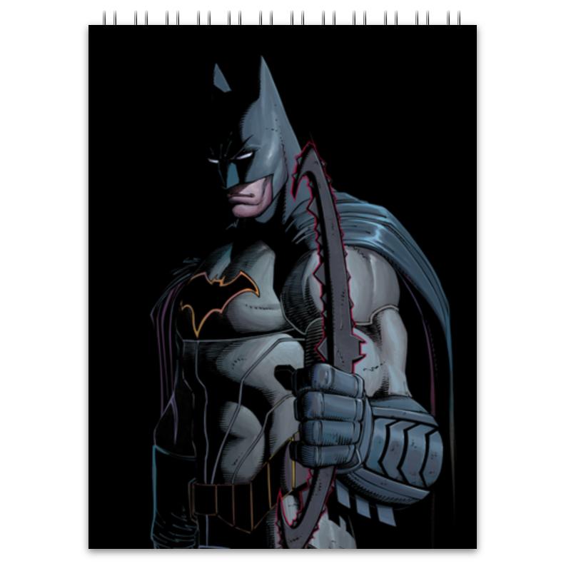 Блокнот Printio Бэтмен блокнот printio сонный блокнот