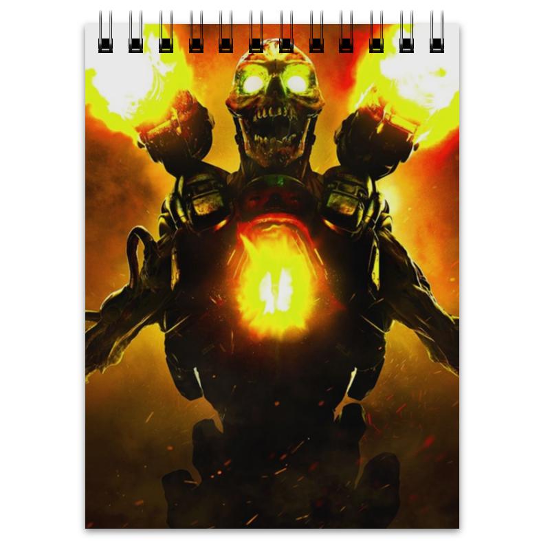 Блокнот Printio Doom 4 print bar doom