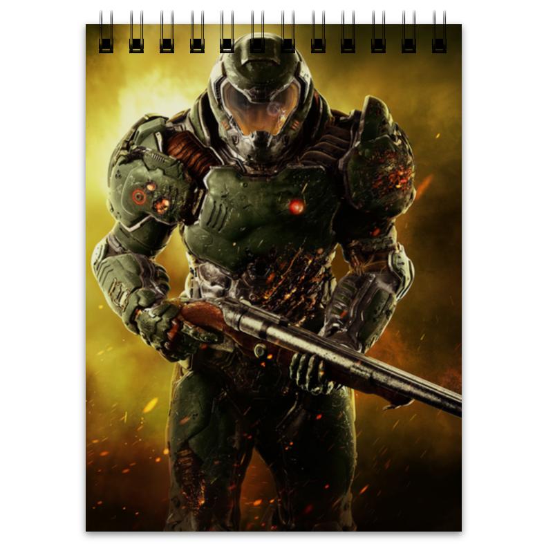 Блокнот Printio Doom 4 цена и фото