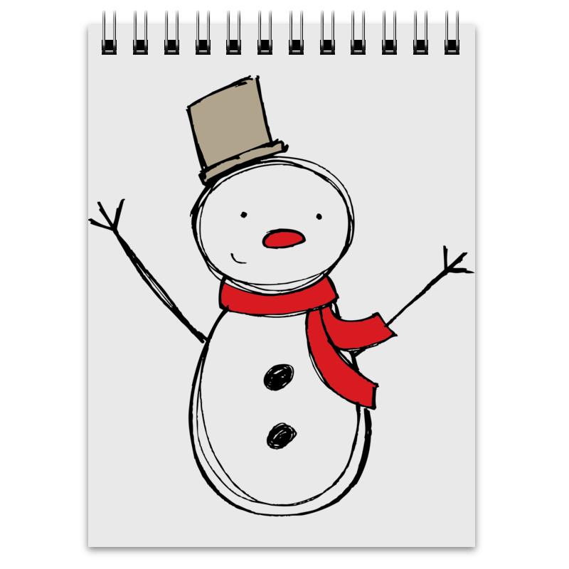 Блокнот Printio С новым годом! блокнот блокнот 162x210 мм 144 стр лин