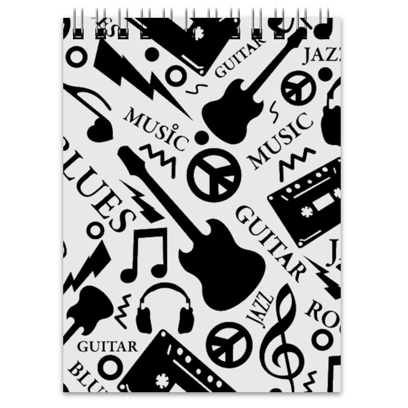 Блокнот Printio Музыка