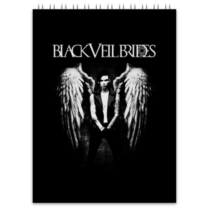 Блокнот Printio Black veil brides блокнот black