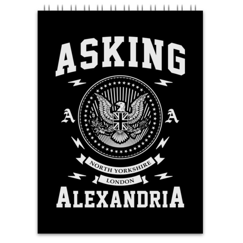 Блокнот Printio Asking alexandria блокнот printio цунами