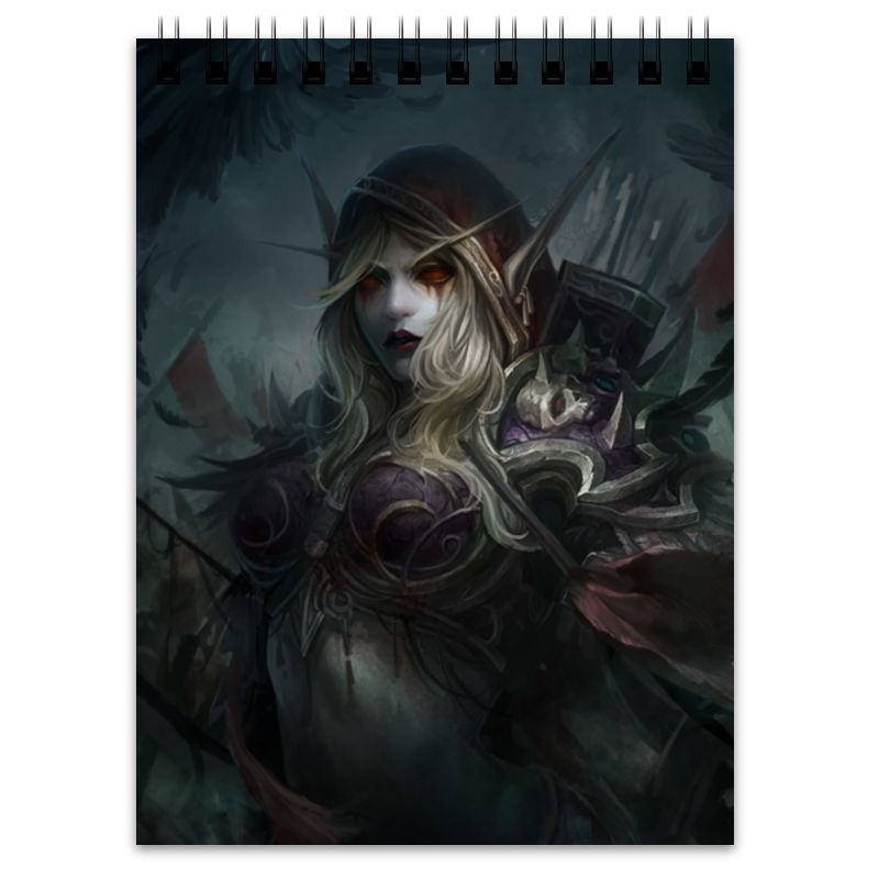 Блокнот Printio Sylvanas windrunner sylvanas windrunner classic toys for boys model figure without retail box
