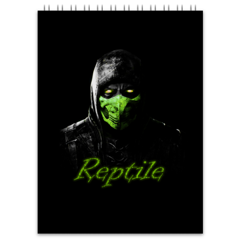 Блокнот Printio Reptile блокнот printio сонный блокнот