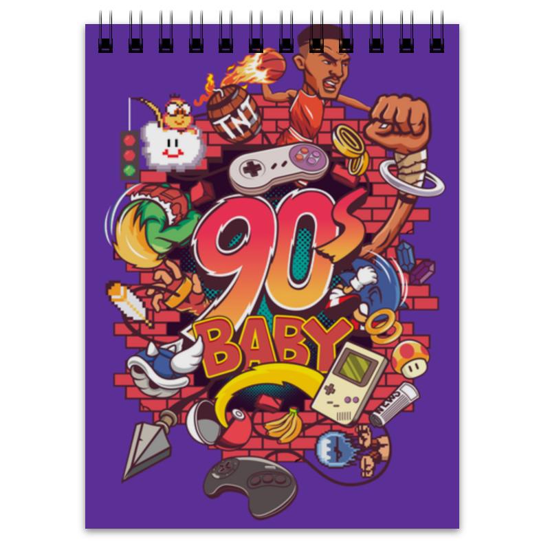 Блокнот Printio Дети 90-ых блокнот printio сонный блокнот