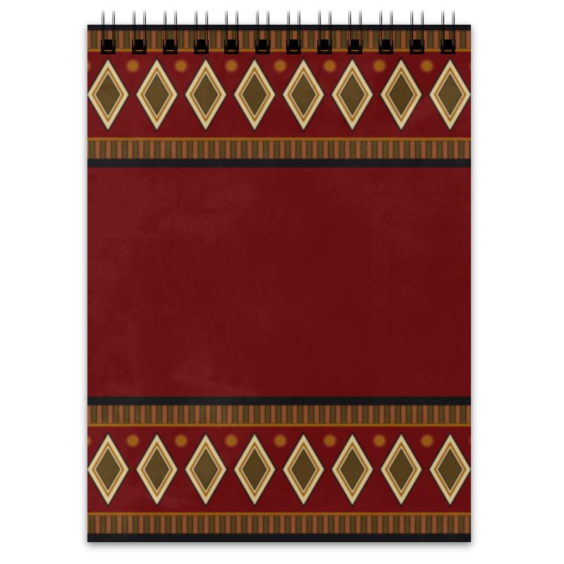 Блокнот Printio Этническая абстракция