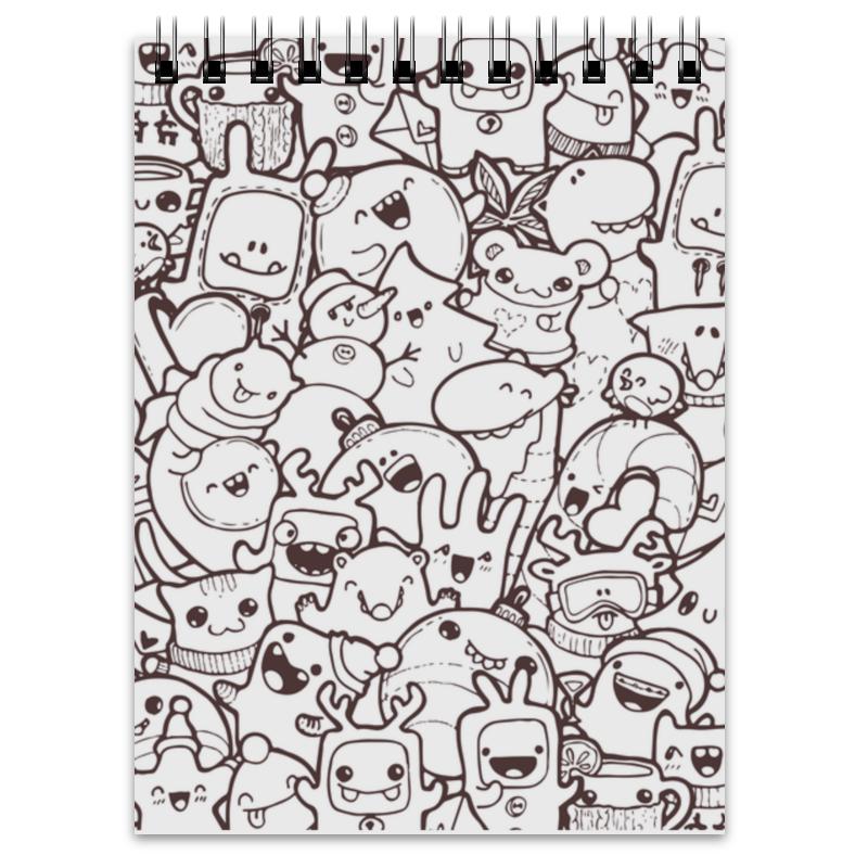 Блокнот Printio Sketch doodles бак wester 804 020 нейлоновый 125мл для краскопульта wester fpg40