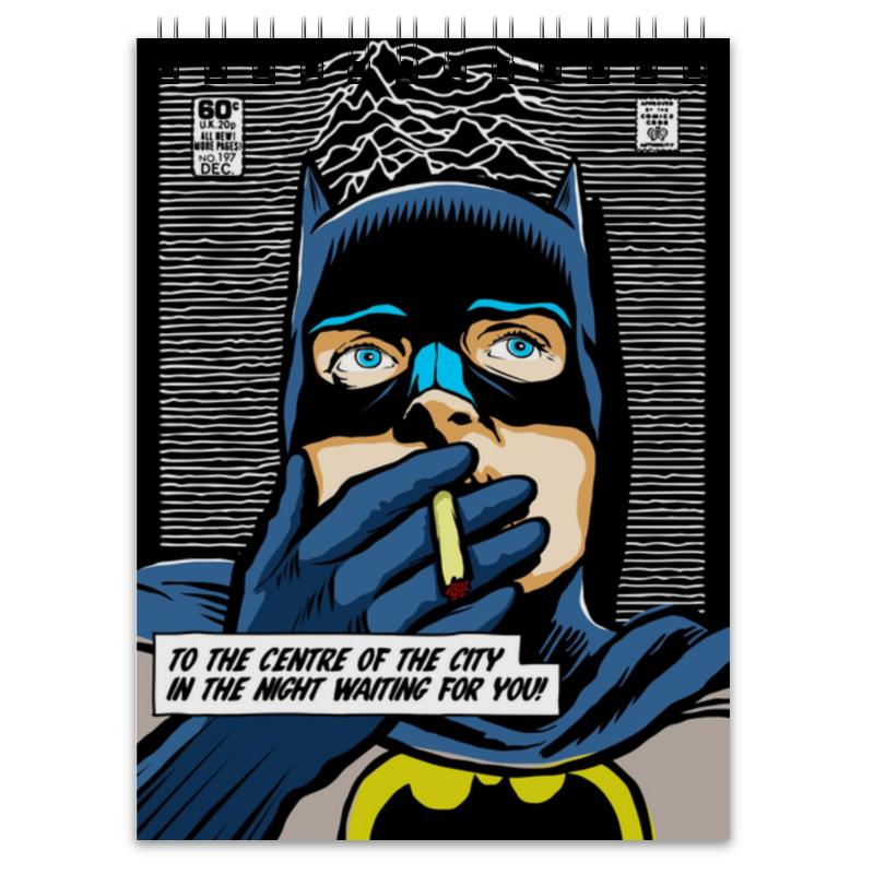 Блокнот Printio Иэн бэтмен кертис иэн бэнкс эксцессия