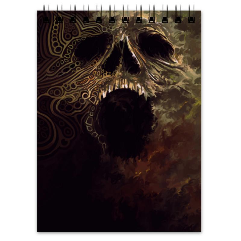 Блокнот Printio Skull блокнот printio king skull