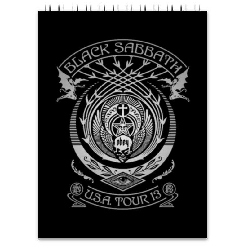 Блокнот Printio Black sabbath блокнот black