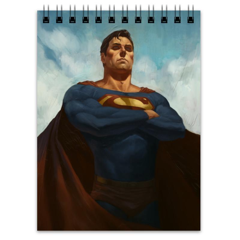 Блокнот Printio Супермен (superman) цена