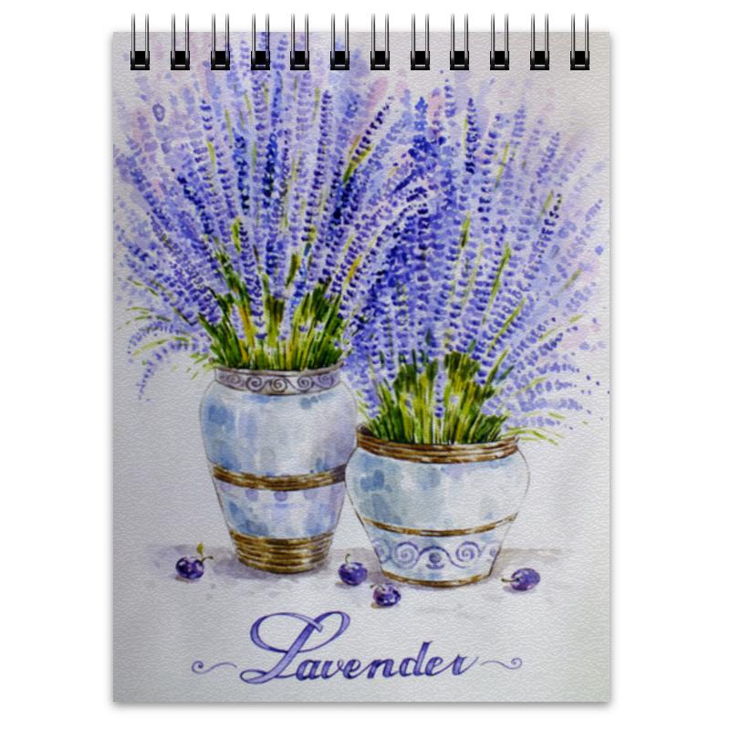 Блокнот Printio Лаванда buenos ninos лаванда цветок номер м