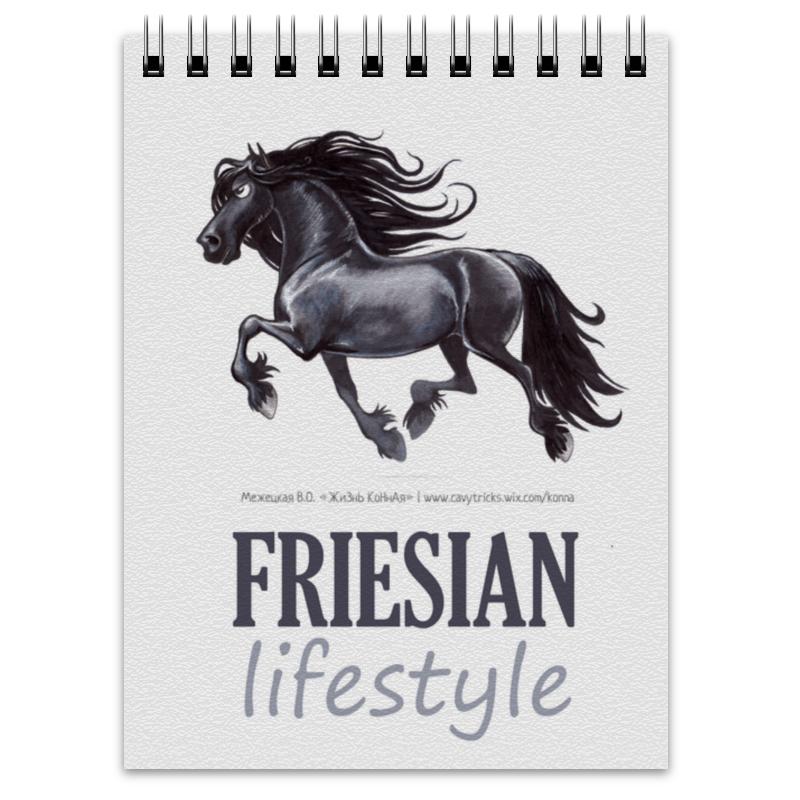 Блокнот Printio Friesian купить щебень на севере москвы