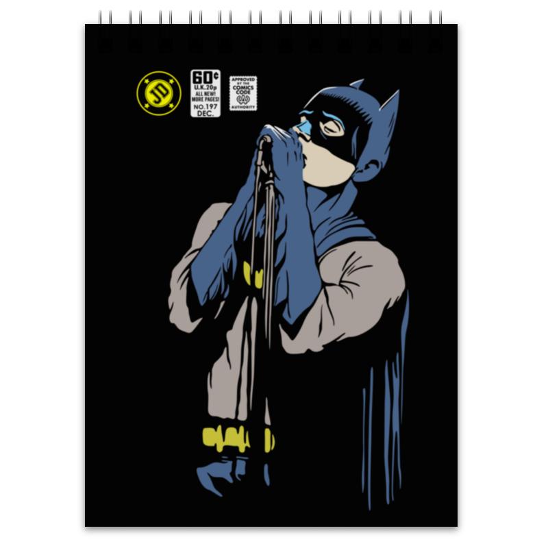 Блокнот Printio Бэтмен иэн кёртис