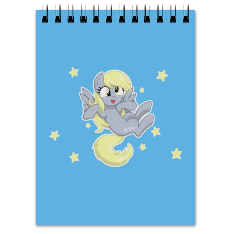 Блокнот Printio My little pony (derpy) just me and my dad little critter