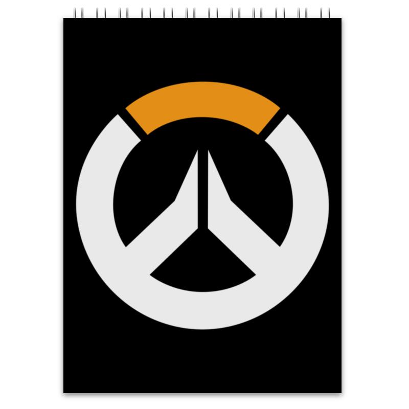 Блокнот Printio Overwatch / овервотч