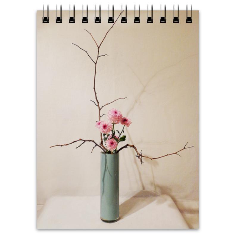 Блокнот Printio Икебана / ikebana