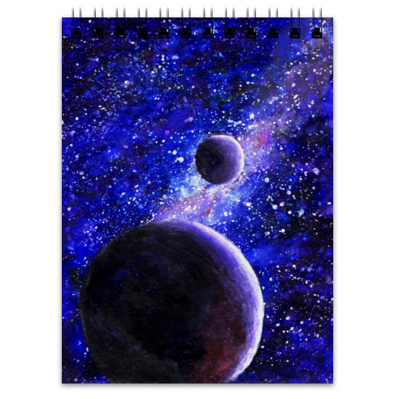 Блокнот Printio Космос и планеты акварель космос блокнот