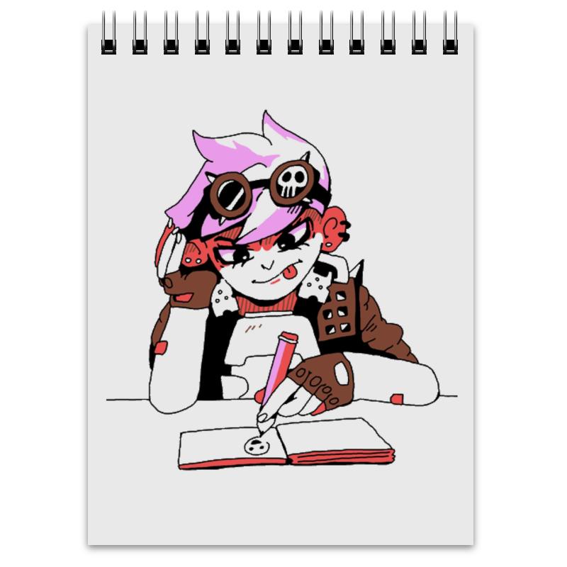 Блокнот Printio Для рисования панкуш