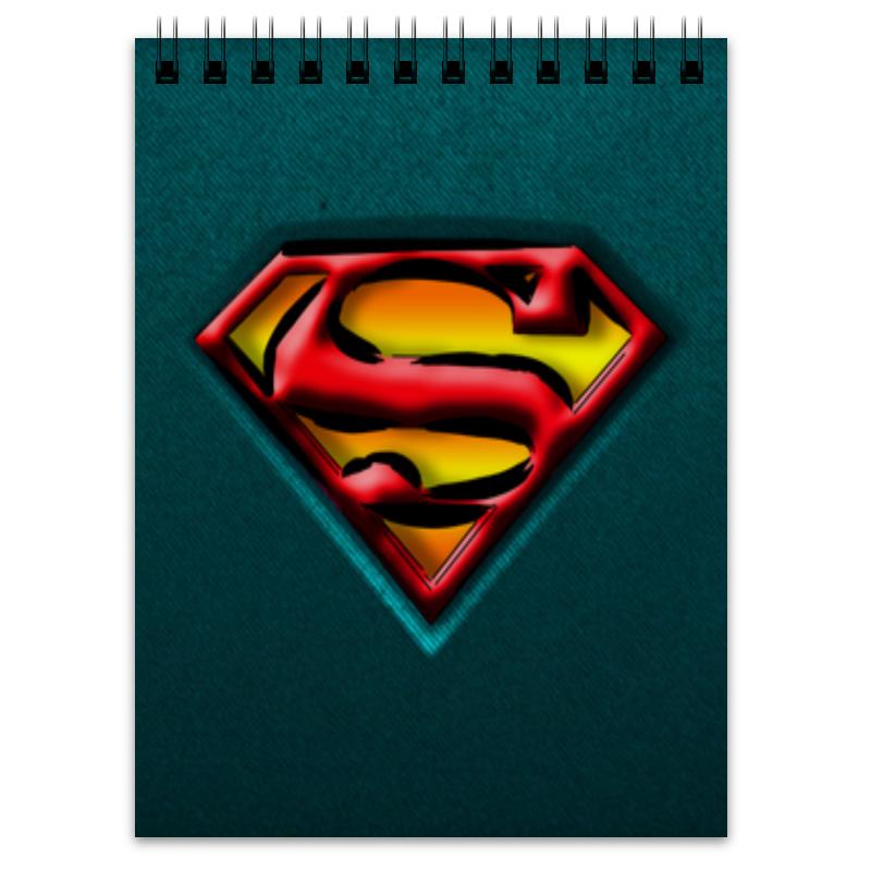 Блокнот Printio Супермен блокнот printio блокнот коловрат