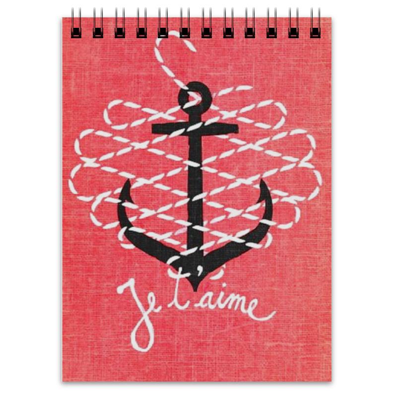 Блокнот Printio Морская любовь отсутствует морская кампания 03 2015