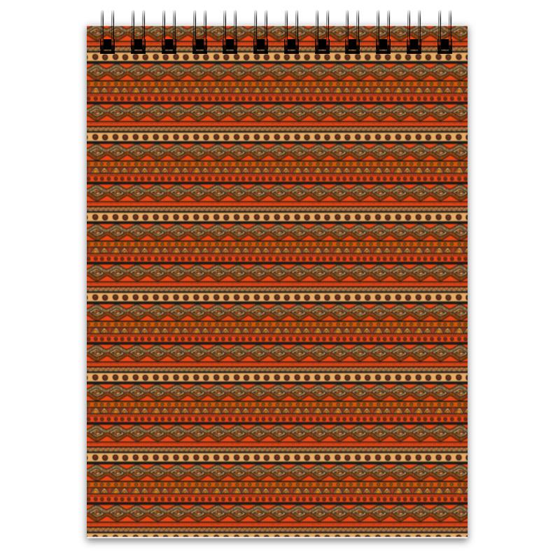 Блокнот Printio Абстрактный этнический блокнот printio этнический бык