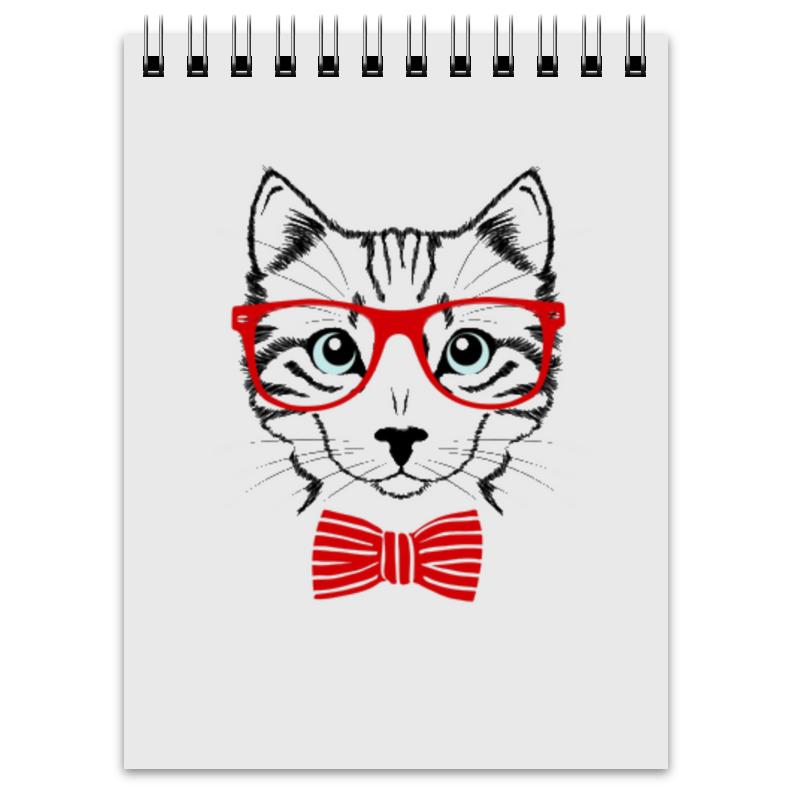 Блокнот Printio Кошка андрей дашков домашнее животное