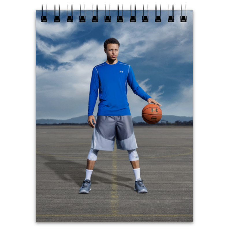 Блокнот Printio Stephen curry плакат a3 29 7x42 printio stephen curry