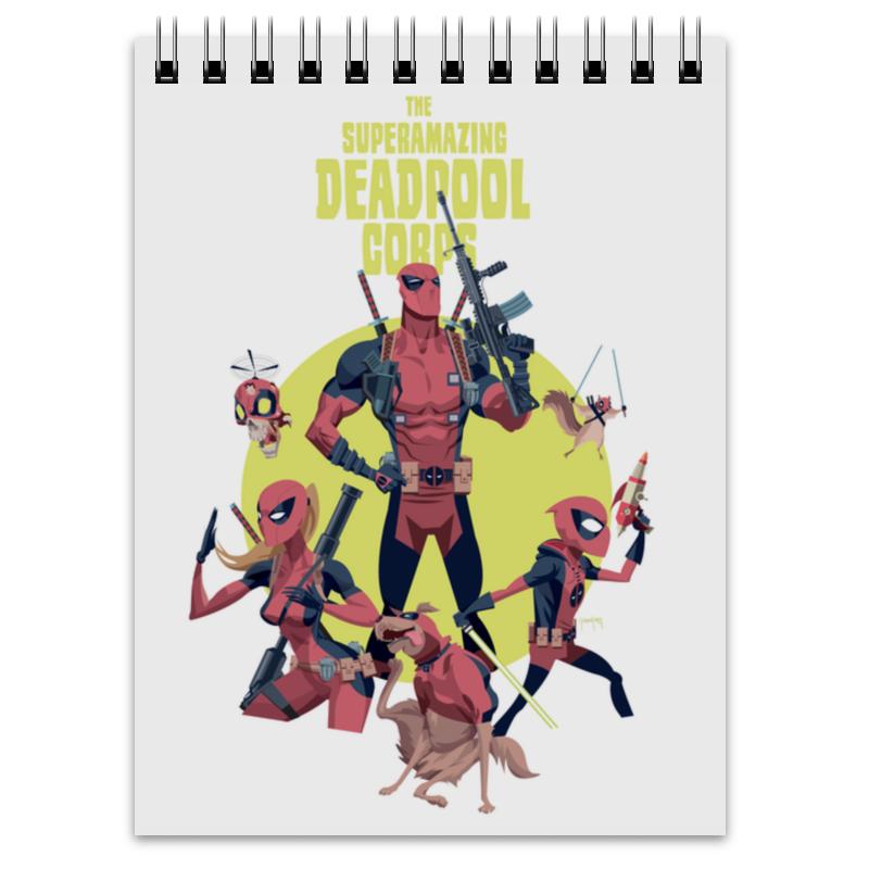Фото - Printio Deadpool family блокнот printio deadpool