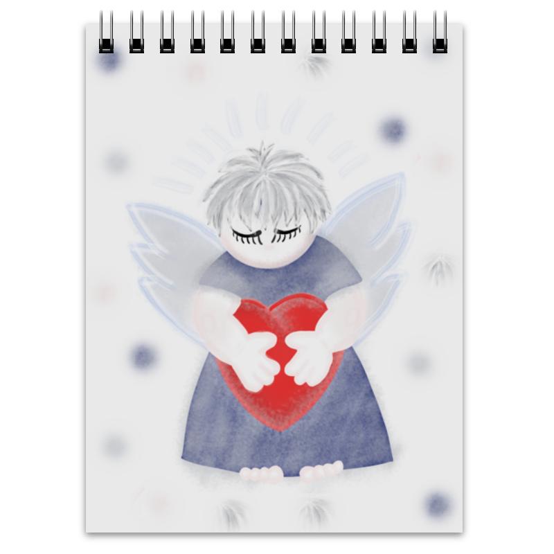Блокнот Printio Маленький сердечный ангел тебе мой ангел