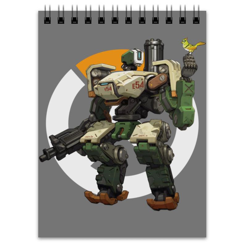 Блокнот Printio Overwatch bastion / овервотч бастион бастион одесса