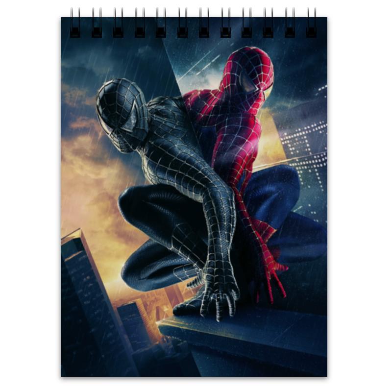Блокнот Printio Человек - паук блокнот printio прогулки по городу