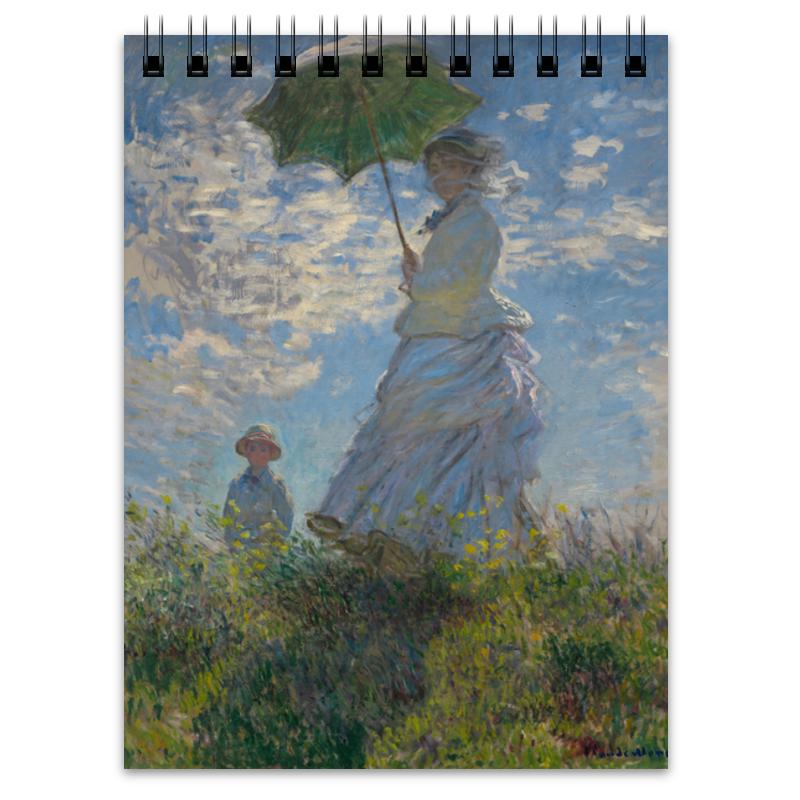 Printio Дама с зонтиком — мадам моне со своим сыном