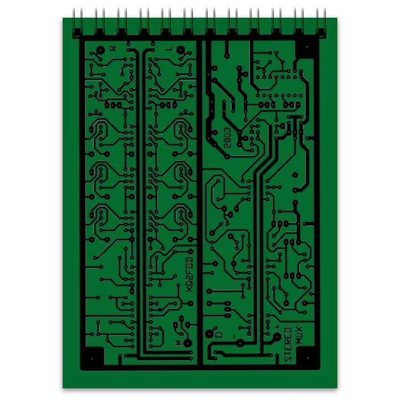 Блокнот Printio Электроника